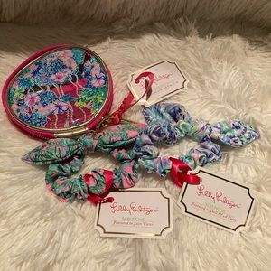 Lilly Pulitzer Hair Kit & 2 Scrunchies